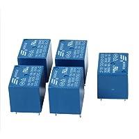 TOOGOO 5 piezas 5V DC Mini Rele
