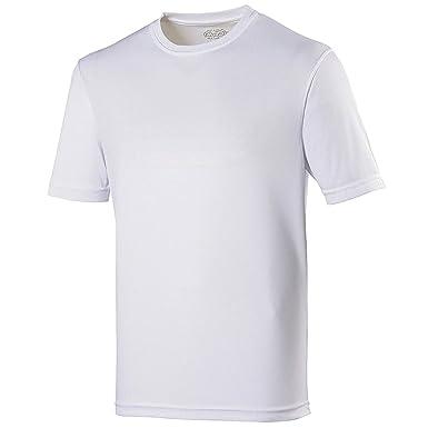c6515c277e29 Just Cool Mens Performance Plain T-Shirt at Amazon Men's Clothing store: