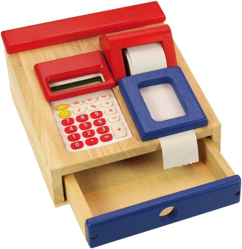 Santoys - Caja registradora con calculadora Real: Amazon.es ...
