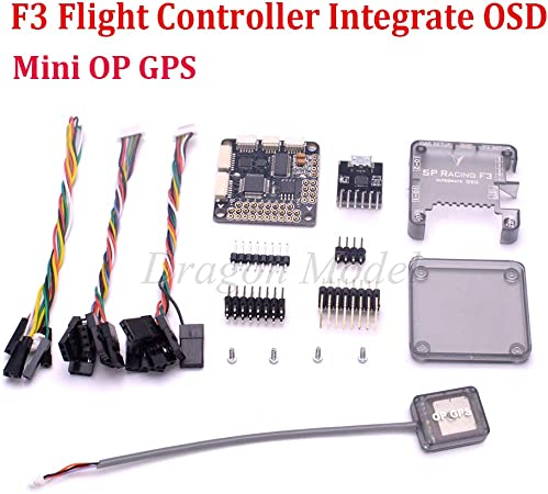Deluxe Barometer//MAG PRO SP Racing F3 Flight Controller Integrate OSD with Case