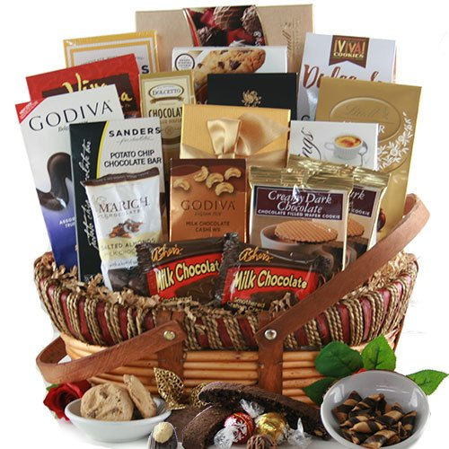 Over the top Chocolate! - Chocolate Gift Basket by Design It Yourself Gifts & Baskets