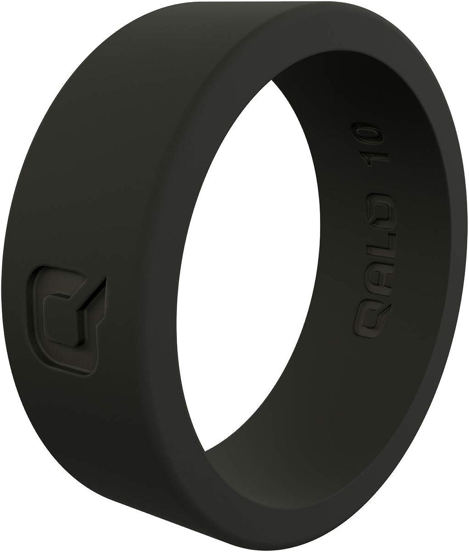 QALO Mens Basic Silicone Wedding Ring