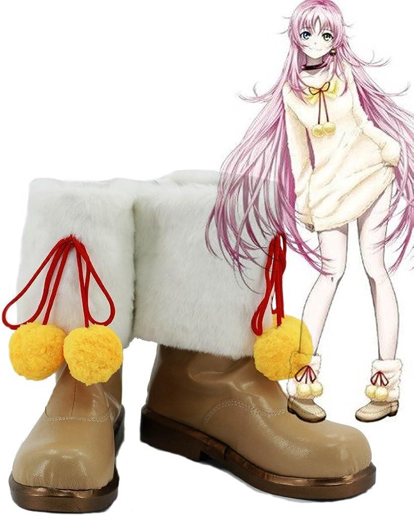 Telacos Attack on Titan Shingeki No Kyojin Cosplay Shoes Boots Brown//Black