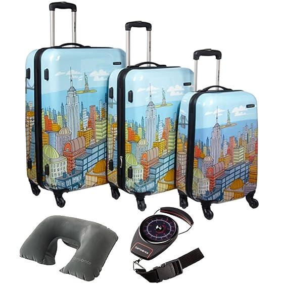 Amazon.com | Samsonite CityScapes NYC 3pc 20-24-28