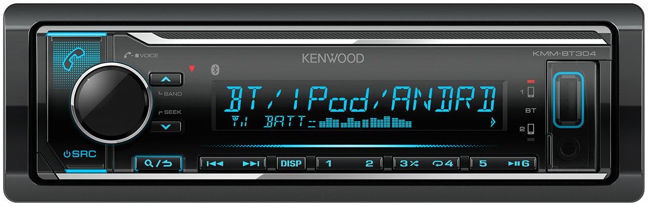 Kenwood KMM-BT304 - Radio para Coche, Color Negro: Amazon.es: Electrónica