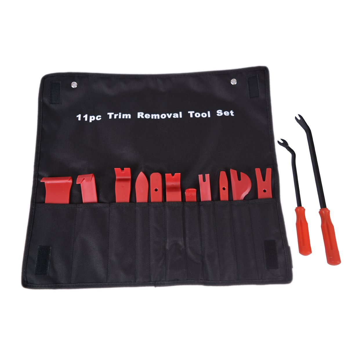 13 Pcs Premium Auto Trim Upholstery Fastener Clips Removal Tool Kit 2 Fastener Removers Included Baitaihem Auto Trim Removal Tool Set