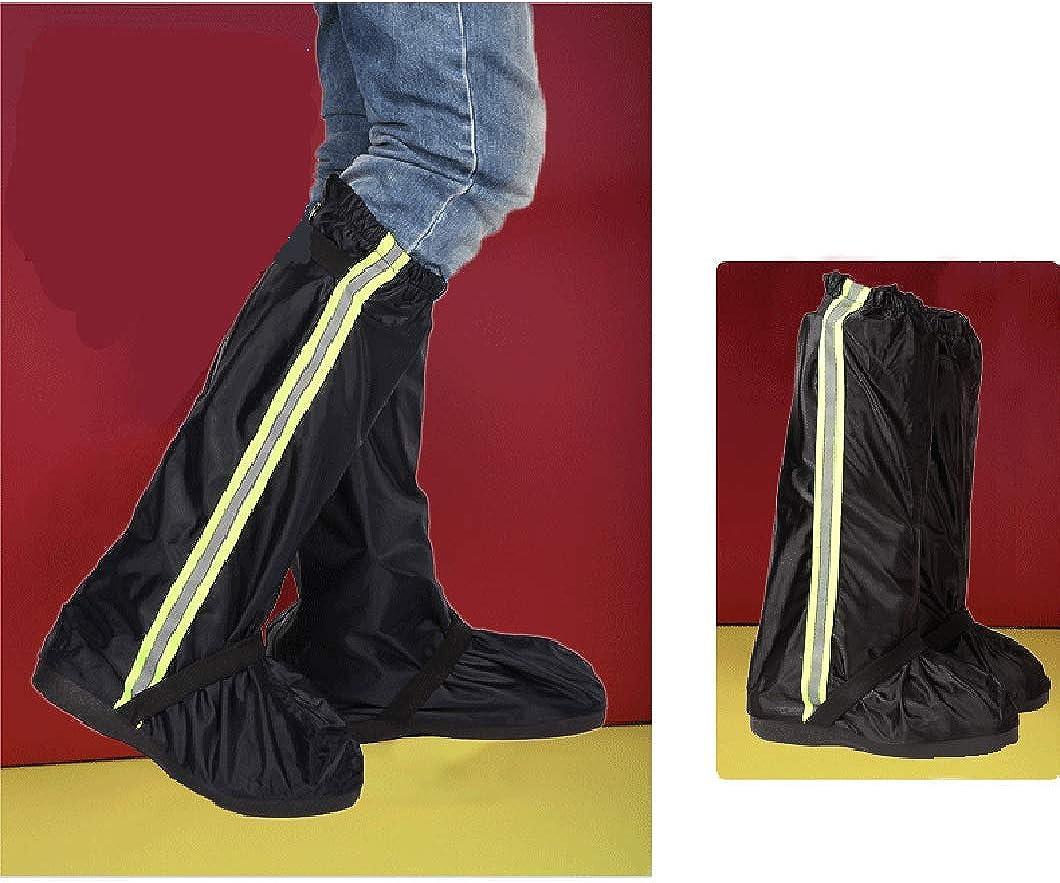 Wetry Couvre Chaussures Impermeable Antid/érapant Surchaussures Reutilisable Bande R/éfl/échissante Moto Bicyclette Travel Chaussures de Pluie
