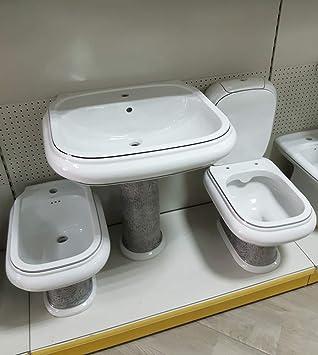 Sanitaires salle de bain lavabo colonne Vase bidet Vintage ...