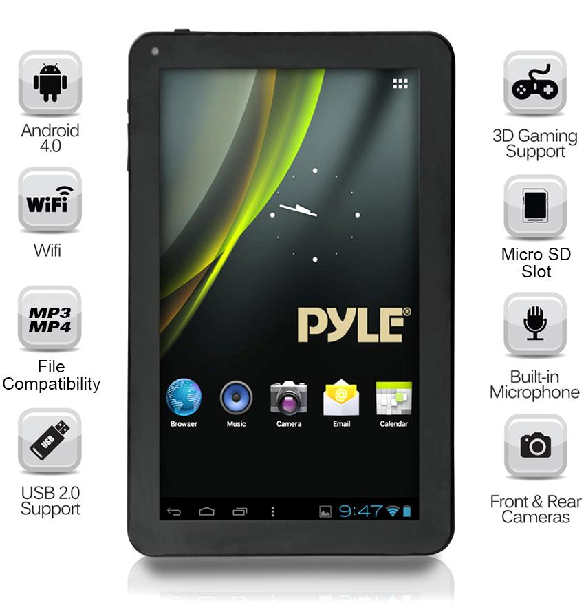 Pyle-Home PTBL7C Android 7-Inch Touch-Screen 3D Graphics ...