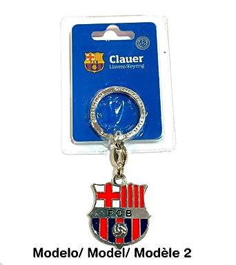 Llavero metal Fútbol Club Barcelona