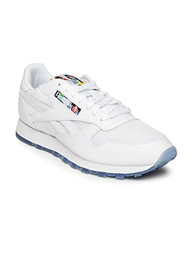 Reebok Men White CL LEATHER BF Sneakers (10UK)