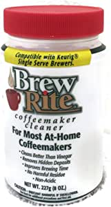 Amazon.com: Brew Rite, limpiador de cafetera.: Kitchen & Dining