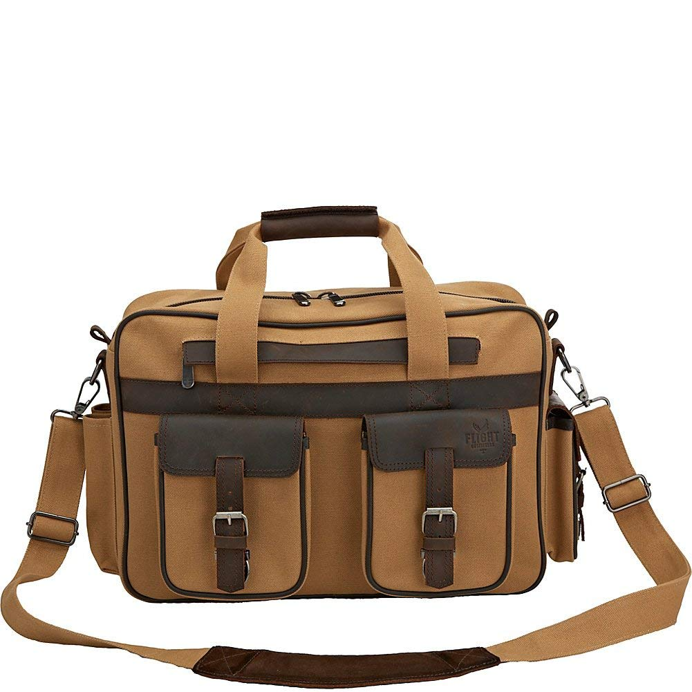 Flight Outfitters Bush Pilot Folio Briefcase Bag by Flight Outfitters