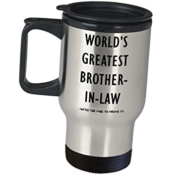 Amazon Com Worlds Greatest Brother In Law Best Funny Gag Gifts
