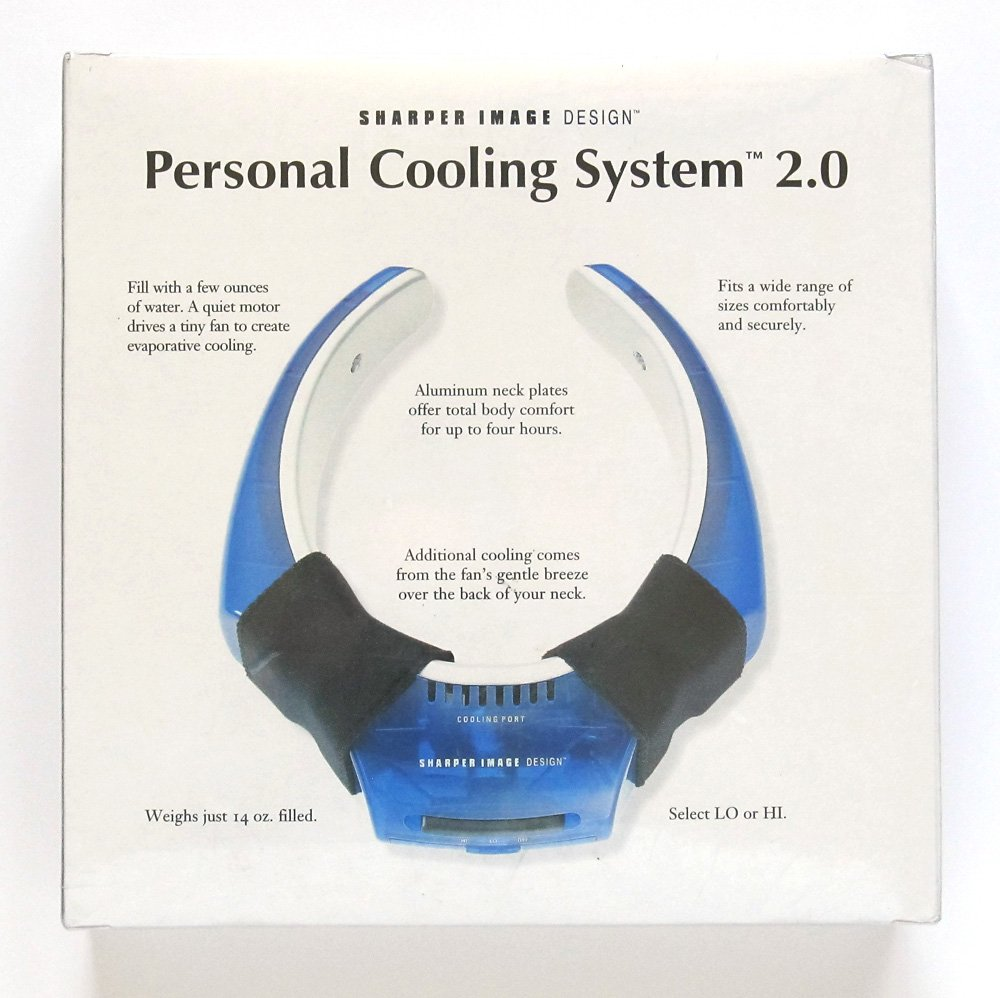 Amazoncom Sharper Image Personal Cooling System 20 Home Kitchen