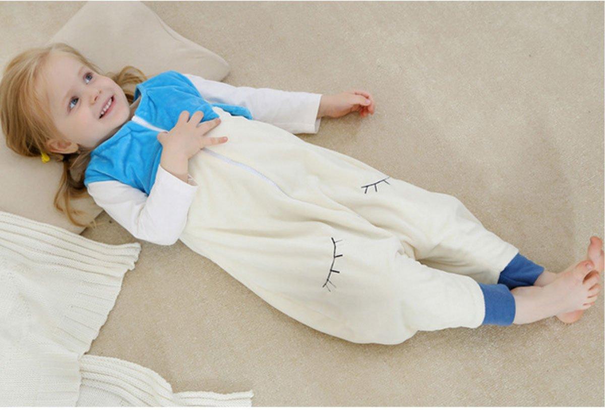 39d90dcf6 Amazon.com  Happy Cherry Baby Toddler Flannel Zipper Sleepwear ...