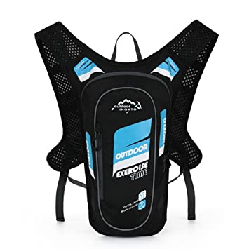 Happy-yoyo 5L MTB - Mochila de ciclismo para senderismo, running, mochila de