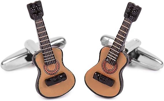 SoloGemelos - Gemelos Guitarra Española - Marrón - Hombres - Talla Unica: SoloGemelos: Amazon.es: Ropa y accesorios