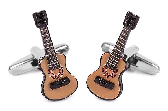SoloGemelos - Gemelos Guitarra Española - Marrón - Hombres - Talla ...