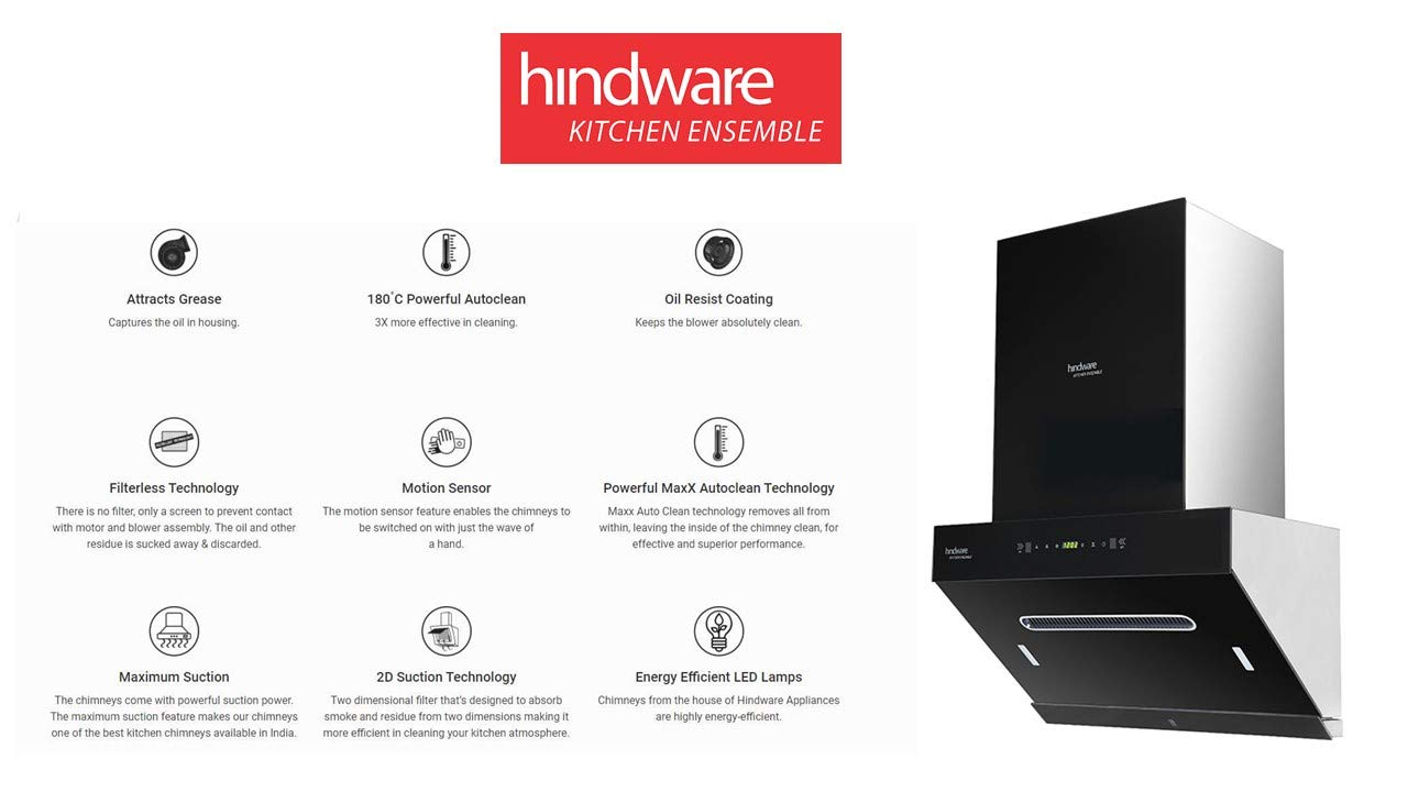 Comparison Elica vs Faber vs Hindware- Best Kitchen chimney 4