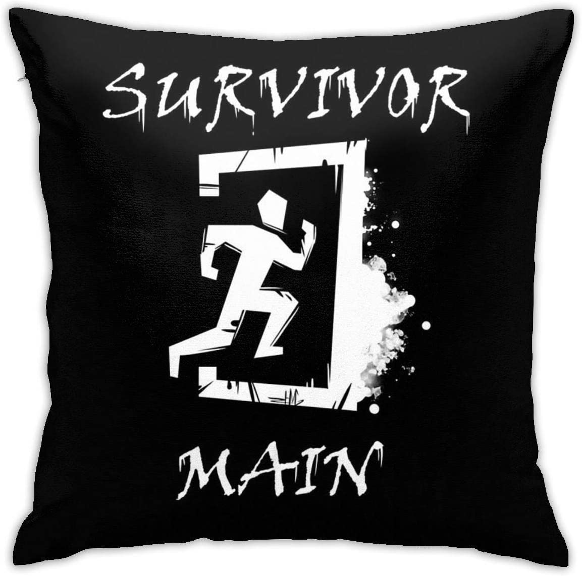 N/A Dbd Dead by Daylight Survivor Main Cushion Throw Pillow Cover Decorative Pillow Case For Sofa Bedroom 18 X 18 Inch: Amazon.es: Hogar