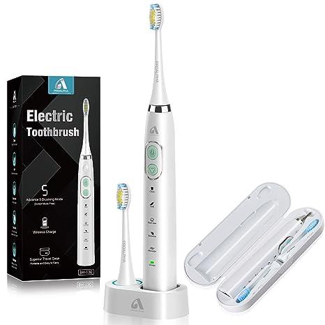 Amazon.com: Proalpha - Cepillo de dientes eléctrico (5 modos ...