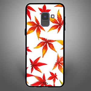 Samsung Galaxy A8 Plus Dried leaves, Zoot Designer Phone Covers