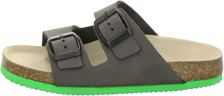 sportliche Kinder-Pantoletten AFS-Schuhe 1100 hochwertiges echtes Leder
