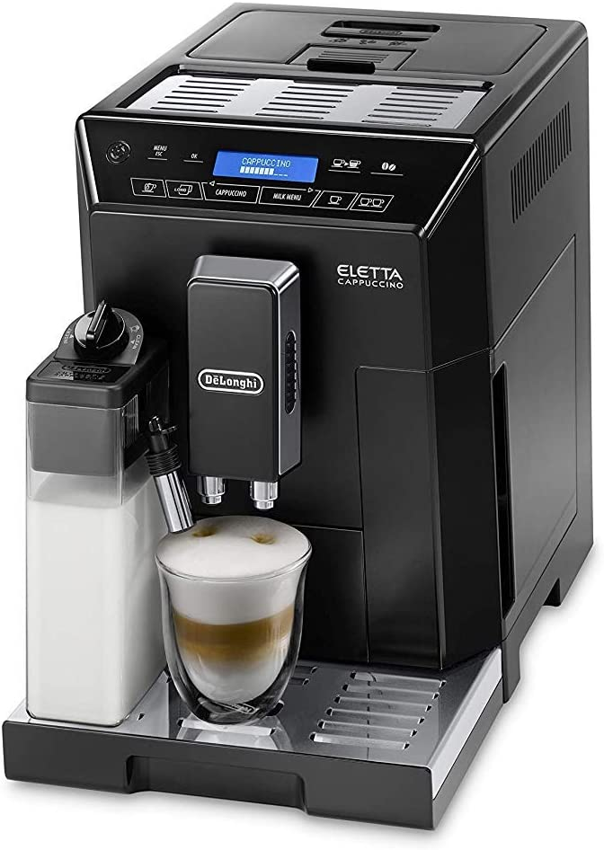 a DELONGHI ECAM 44.660.b Eletta Cappuccino caffè completamente automatica Nero Eek