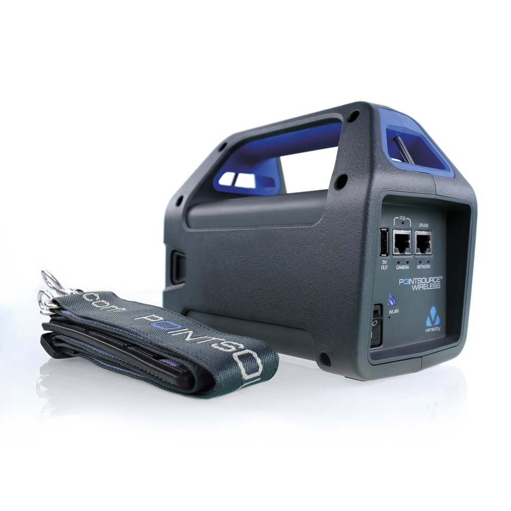 Veracity Usa Vad-Psw Wireless Battery-Powered Poe+ Injector/Network Adaptor Providing Wireless Network