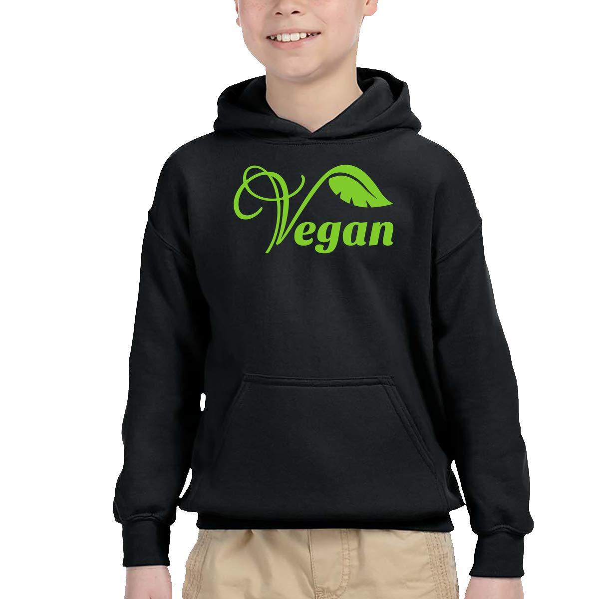 YTH/&123 Toddler Boys Girls Pullover Hoodie Fleece Vegan Outerwears