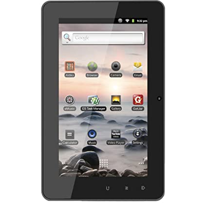 "amazon com coby kyros 7 inch android 2 3 4 gb internet tablet with rh amazon com Kyros 7"" Android Kyros 7"" Android"
