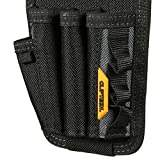 ToughBuilt - Screwdriver Pouch | 7 Pockets & Loops, 3 Snug-fit Screwdriver Loops, Pencil Pocket/Holder, Tool Holster Accessories, New Multi-Tool Organizer