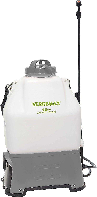 Verdemax - Mochila Pulverizar Electrica 16L. Bateria De Litio