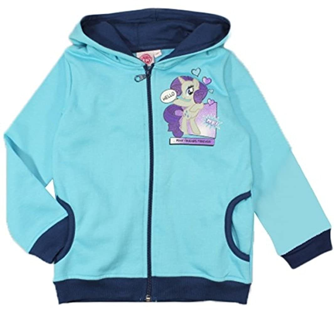 MLP Girls My Little Pony Sweatshirt Jacket Hoodie Sun City