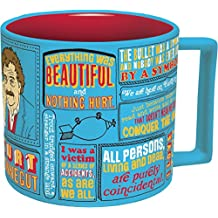 Kurt Vonnegut Coffee Mug - Vonnegut's Most Famous Quotes - Comes in a Fun Gift Box