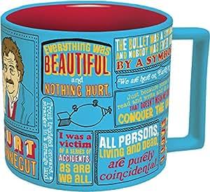 Kurt Vonnegut Coffee Mug - Vonnegut's Most Famous Quotes - Comes in a Fun Gift Box