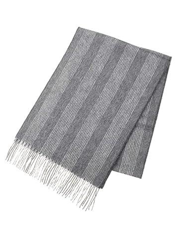 Wool Angora Scarf ALLAA 19754: Grey