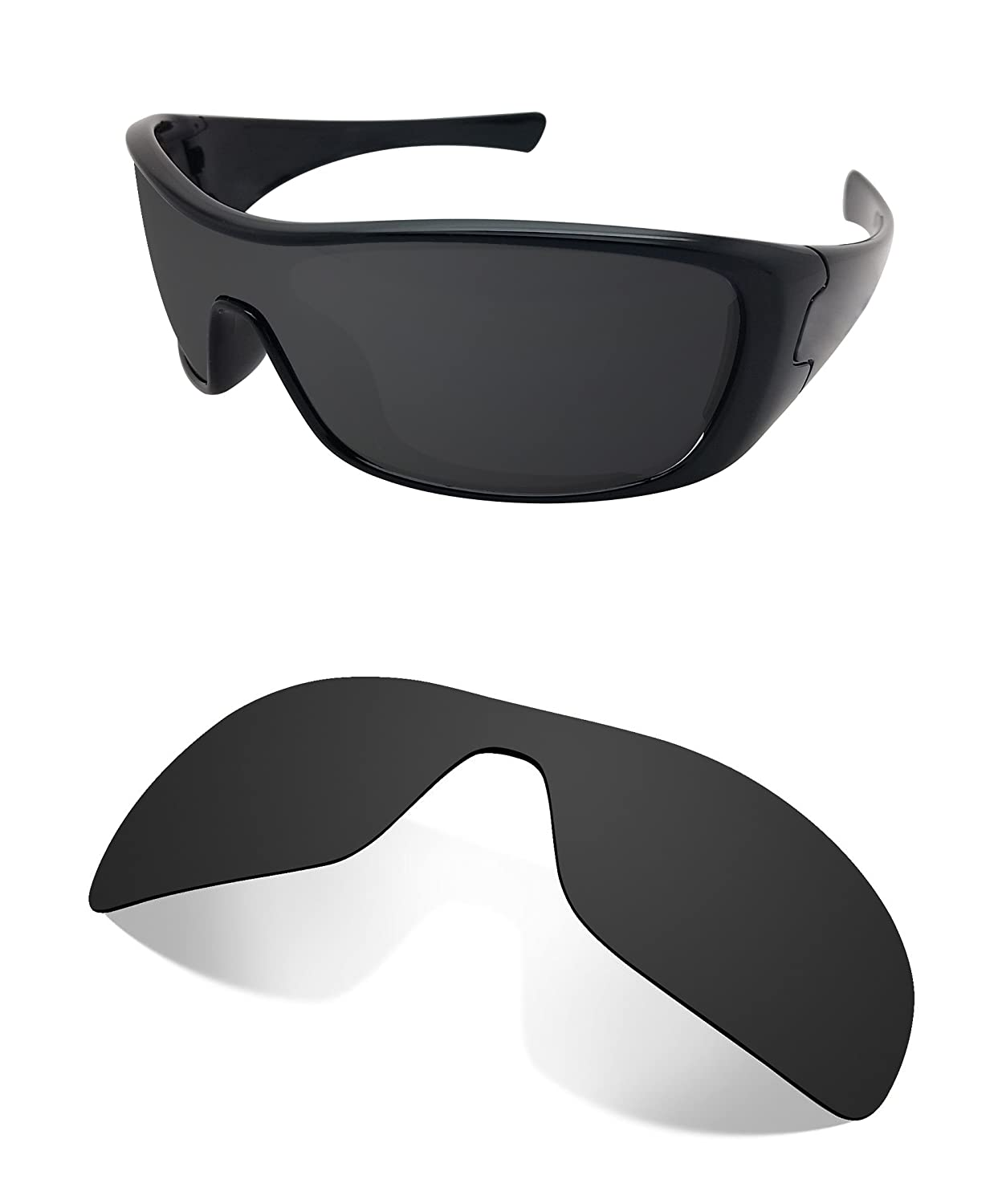 2ac3822fdb2 Amazon.com  Littlebird4 Replacement Sunglasses Lenses Compatible with Oakley  Antix