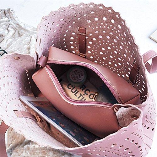 de Carteras bandolera Bolsos de Shoppers Mujer y mano clutches hombro y Gyöngyfehér bolsos 0xFc4tU