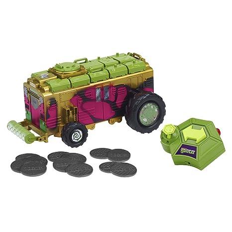 Tortugas Ninja - Shellraiser con radiocontrol (Giochi Preziosi 94131)