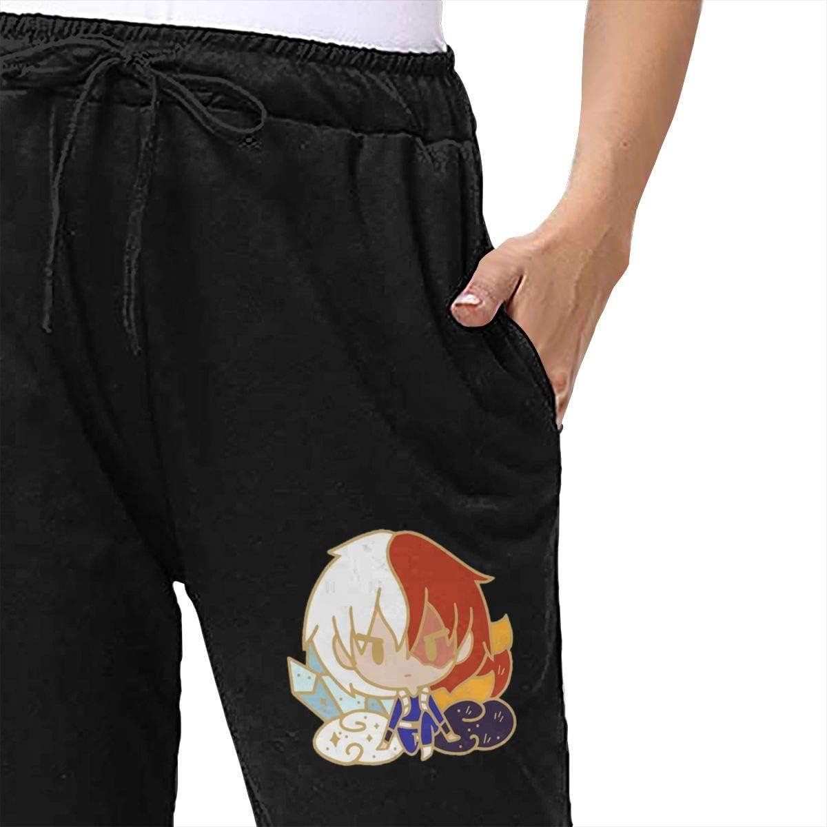 CRK008 My Hero Academia Shouto Todoroki Shoto Womens Sport Pants Slacks Sweatpants