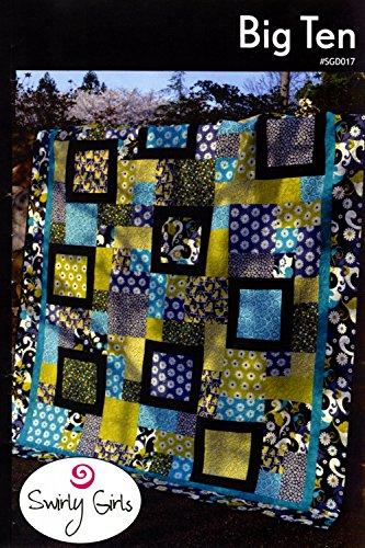 (Big Ten Quilt Pattern by Swirly Girls - 86