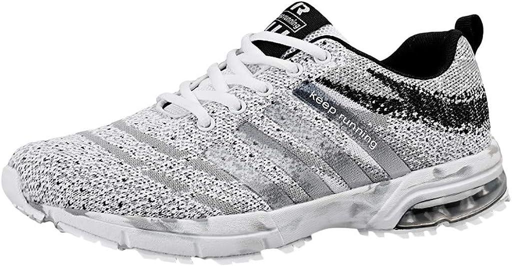 R-Cors Calzado Deportivo Ligero de Malla Transpirable para Hombre al Aire Libre Zapatillas Hombres Deporte Running Zapatos para Correr Sneakers Deportivas Casual para Correr Zapatos Altos: Amazon.es: Zapatos y complementos