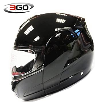 Amazon.es: Casco de Moto Casco 3GO-115 Modular Crash Moto ...