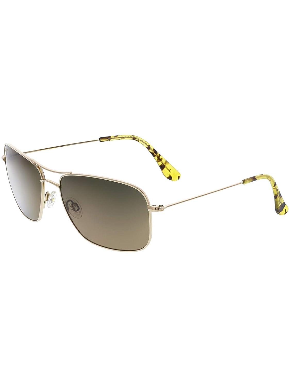 Maui Jim Sunglasses - Wiki Wiki / Frame: Gold Lens: HCL Bronze Polarized
