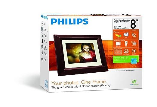 Amazon.com : Philips SPF3482 Home Essentials Digital PhotoFrame 8 ...