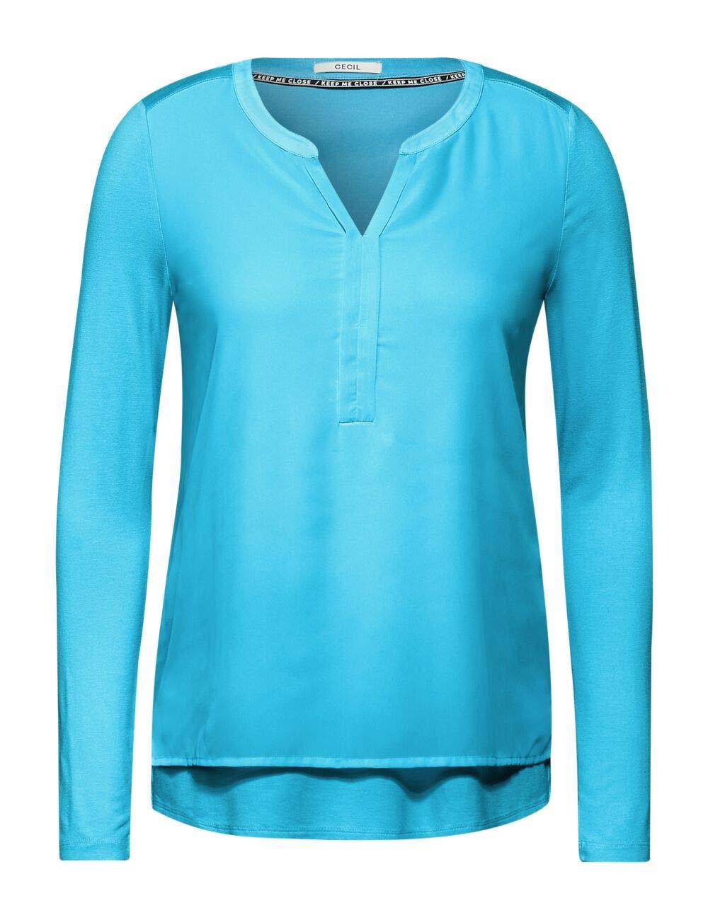 Cecil dam blus Sporty Himmelsblå