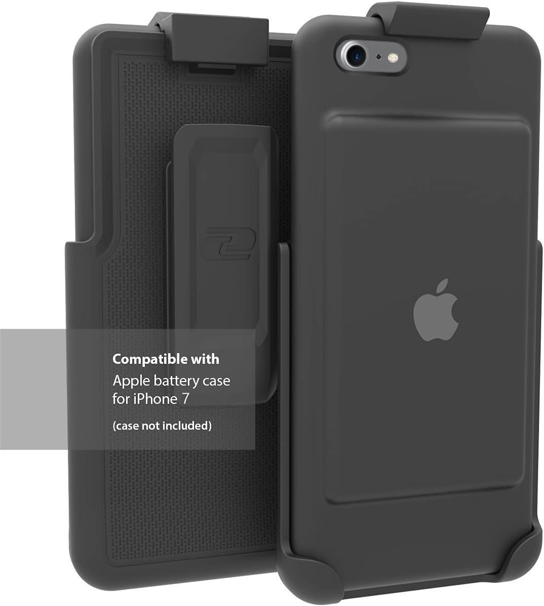 Encased Belt Clip Holster for The Apple Smart Battery Case (iPhone 7) (case not Included)
