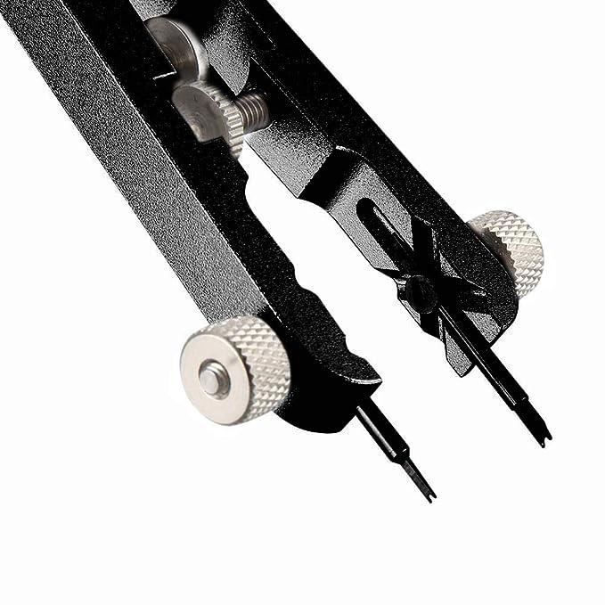 Domeilleur - Juego de alicates de Acero Inoxidable para Quitar Pinzas y pasadores de Resorte, Kit de reparación Profesional: Amazon.es: Hogar